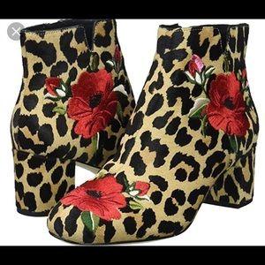 Kate Spade New York Langton Leopard Ankle Bootie